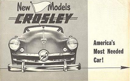 1952 Crosley cover
