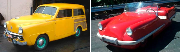 "1952 Crosley station wagon, Crosley ""Scorpion"""