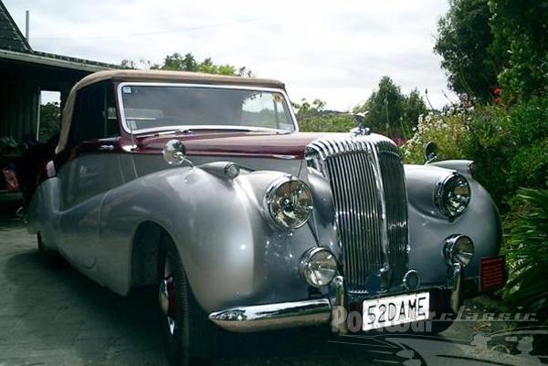 1952 Daimler Barker Special Sports Convertible