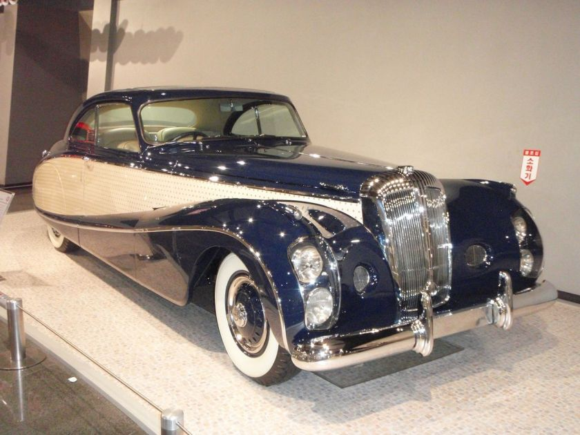 1952 Daimler -Blue Clover-Lady Docker