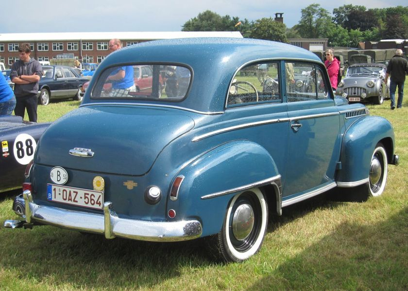 1952 Opel Olympia Berline (saloon-sedan)