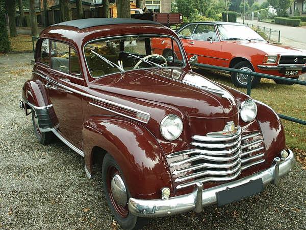 1952 Opel Olympia