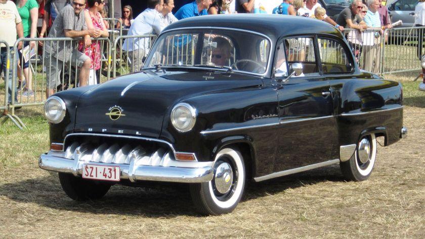 1953-54 Opel Olympia Rekord sharkmouth ca 1954