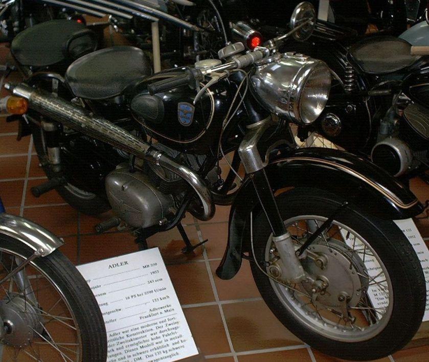 1953 Adler MB 250a