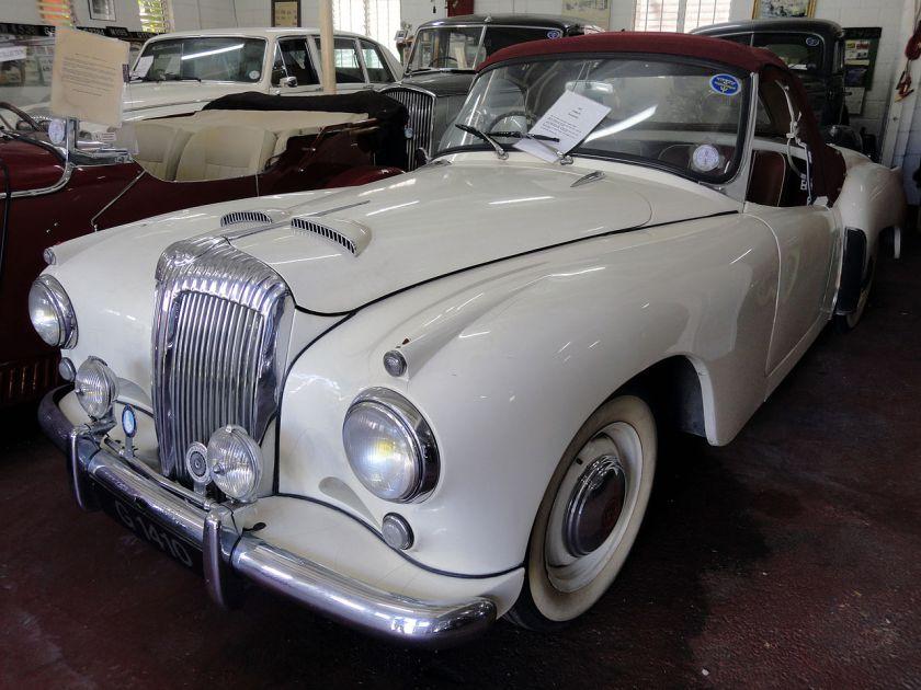 1953 Daimler Roadster