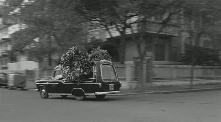 1953 Fiat 1400 Autofunebre Accossato a