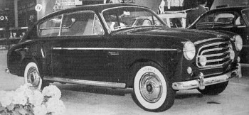 1953 Fiat Accossato 1900 Berlina