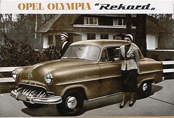 1953 opel olympia record