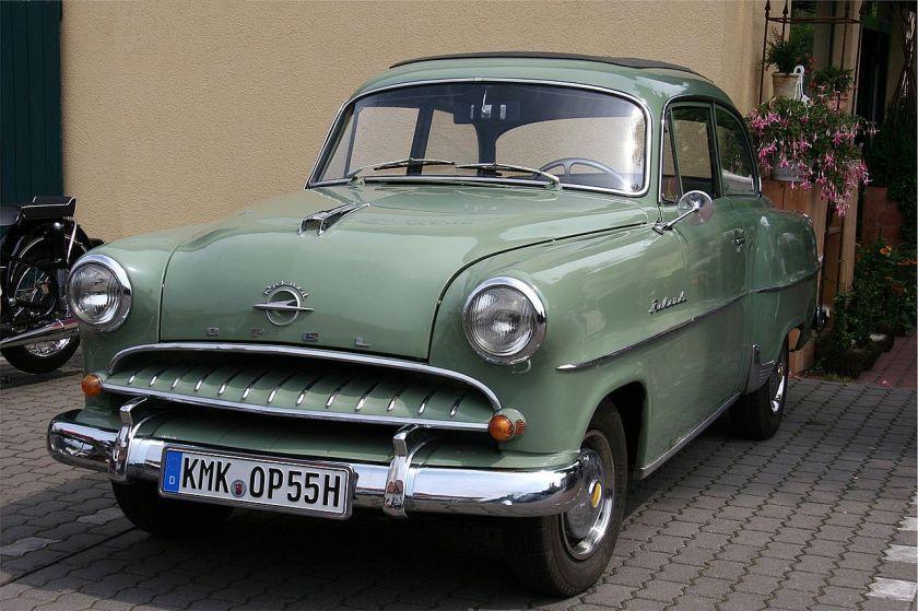 1953–57 Opel Olympia Rekord, Bj. 1955 (retusch)