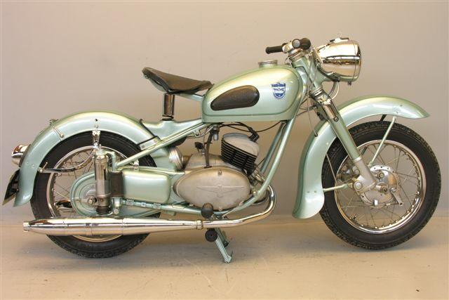 1954 Adler MB 200cc