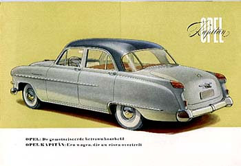 1954 opel kapitän-a