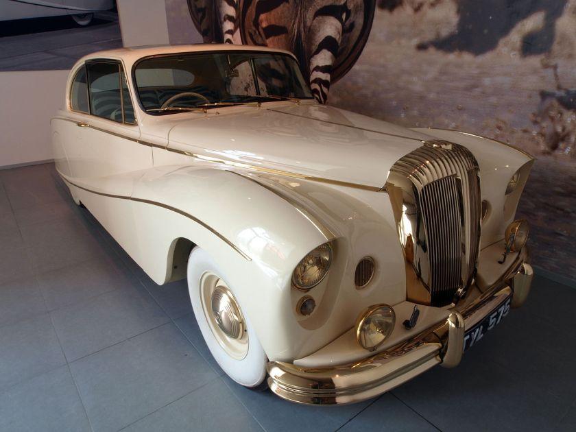 1955 Daimler DK 400 'Golden Zebra' Coupé p2