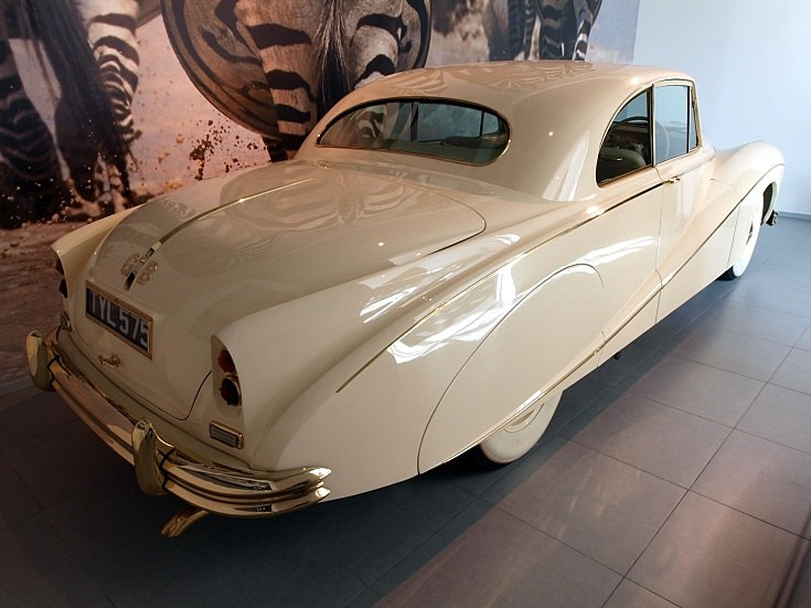 1955 Daimler DK 400 'Golden Zebra' Coupé