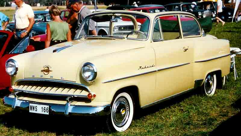 1955 Olympia Rekord Cabriolimousine