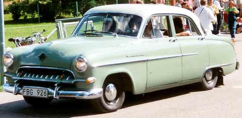 1955 Opel Kapitan R