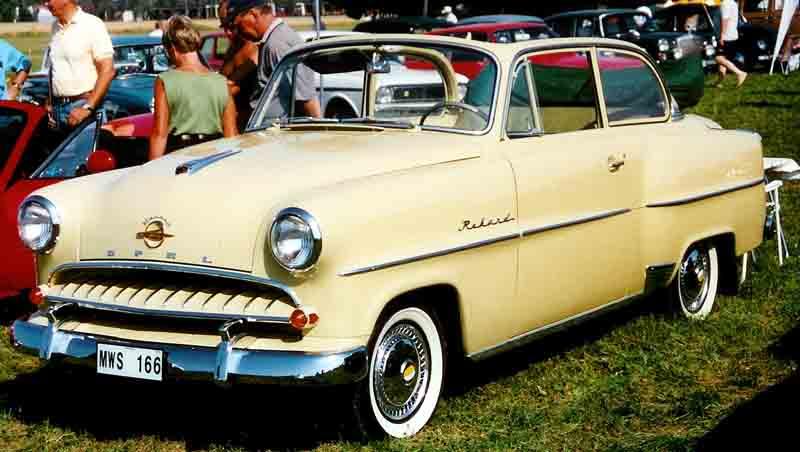 1955 Opel Rekord Cabriocoach