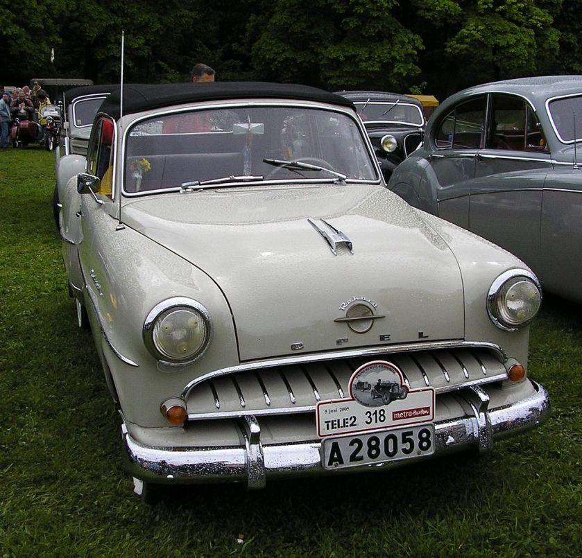 1955 Opel rekord
