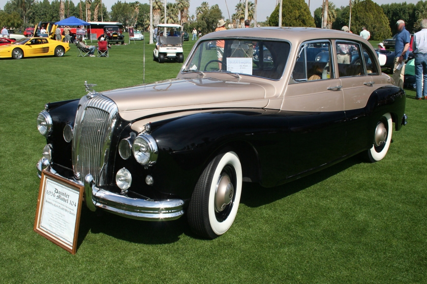 1956 Daimler One-O-Four.1