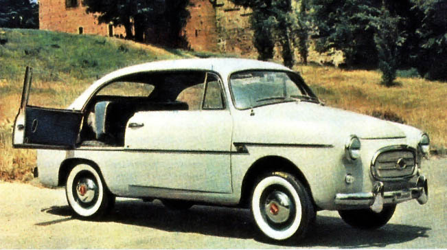 1956 Fiat 600 Berlinetta Accossato-1