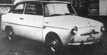 1956 Fiat Accossato 600 2 porte