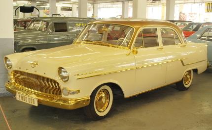 1956 Opel, ein Kapitän