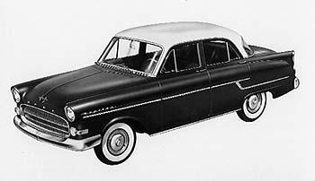 1956 opel kapitän-pr