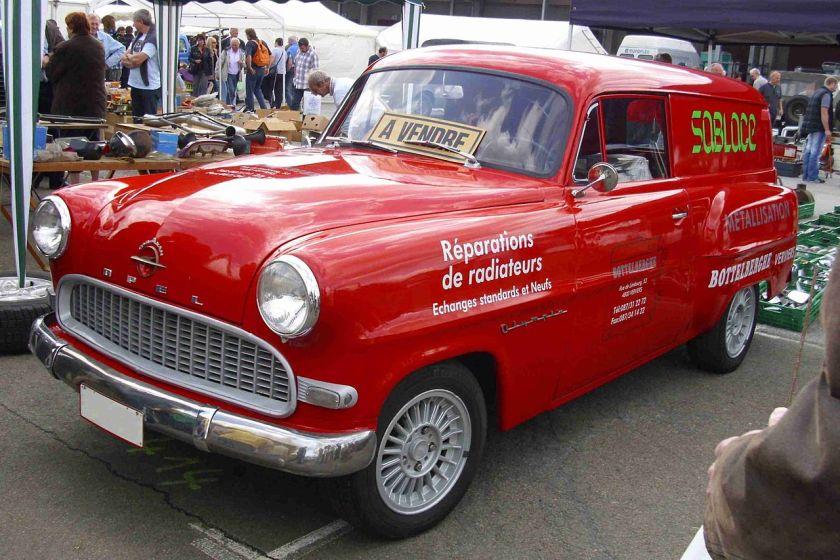 1956 Opel Olympia Rekord Lieferwagen Modell