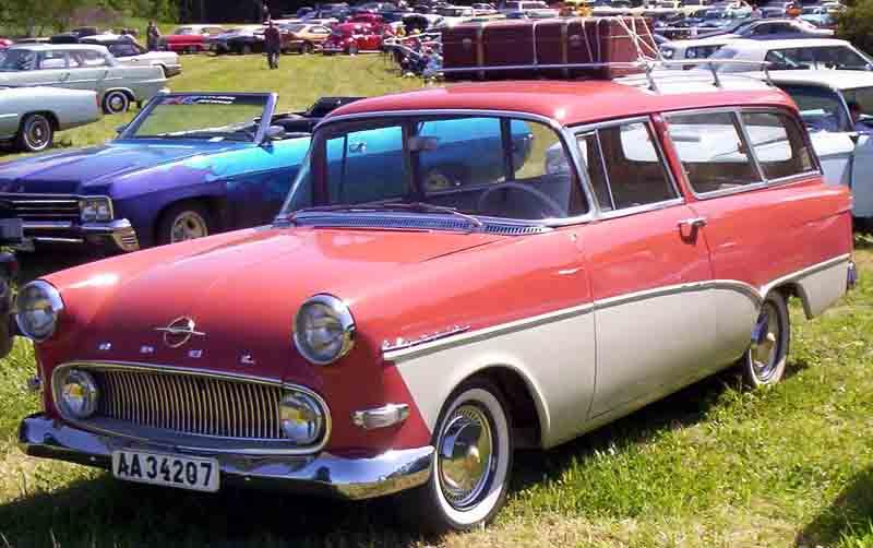1957-60 Opel Rekord Olympia Caravan