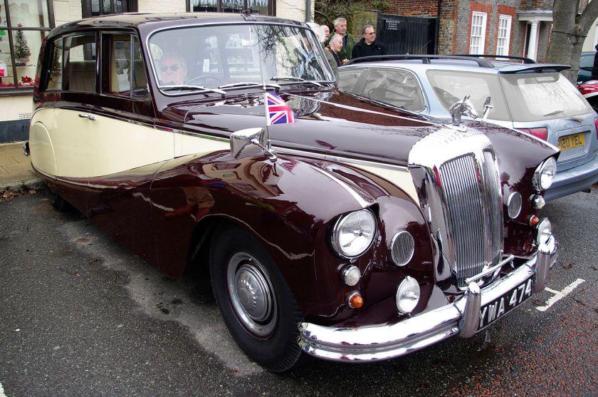 1957 Daimler DK400b