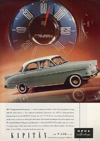 1957 opel kapitein c