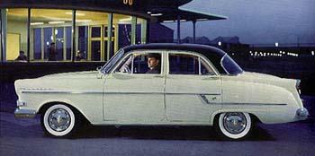 1957 opel kapitein l