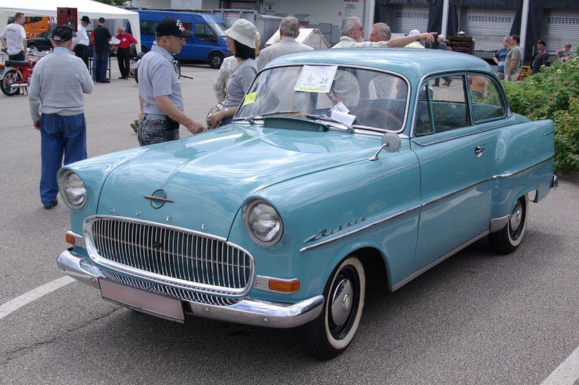 1957 Opel Olympia Rekord BW 1