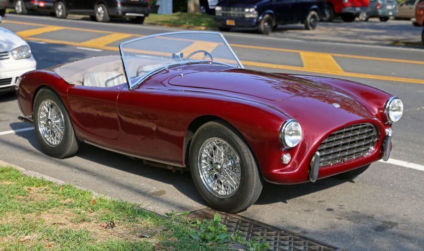 1958 AC Ace roadster with AC engine