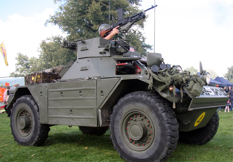 1958 Daimler Ferret Armoured Car