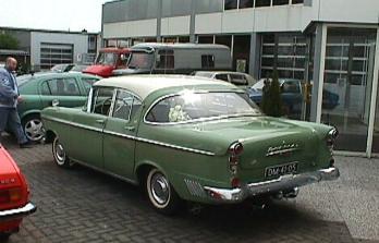 1958 opel kapitän-c