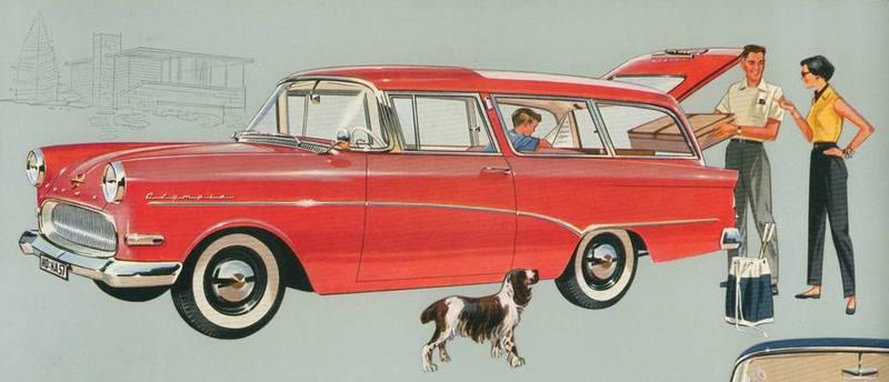 1958 Opel Rekord caravan 2