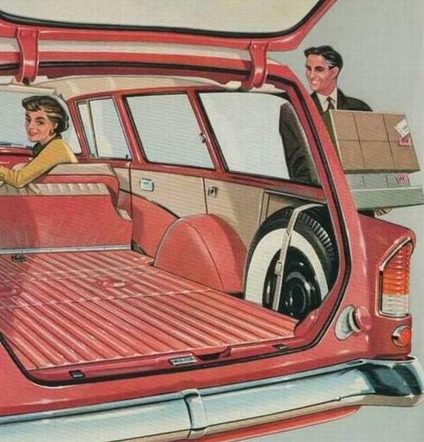 1958 Opel Rekord caravan 5