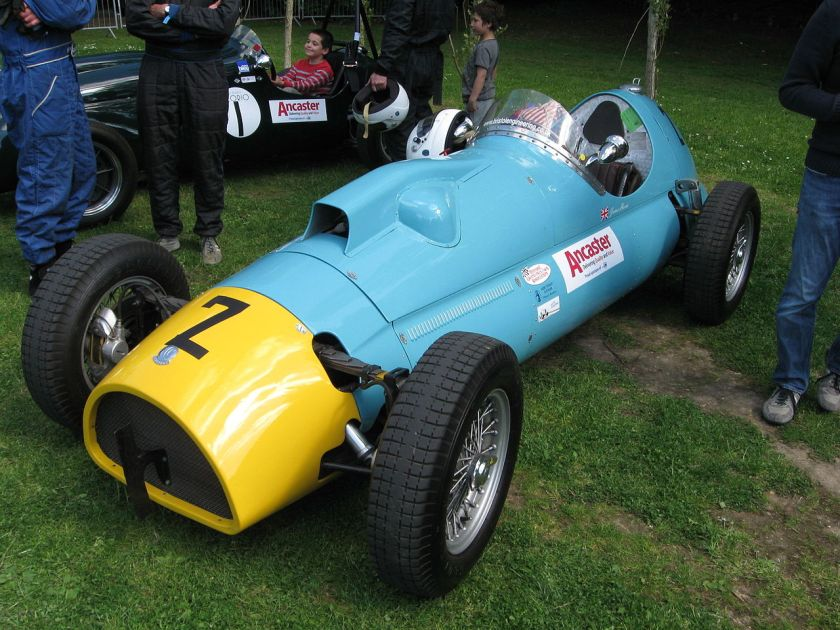 1959 AC single-seater at Motor Sport at the Palace, Crystal Palace (circuit) 27 May 2013AC