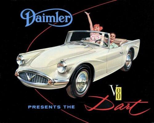 1959 Daimler sp 250