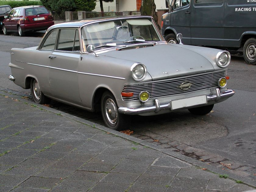 1960-63 Opel Rekord P2 Coupe 01