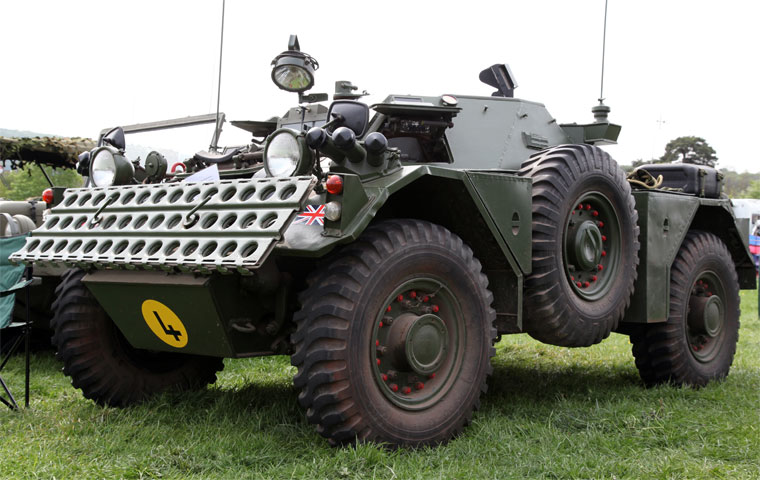 1960 Daimler Ferret Armoured Car