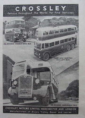 1960 Manchester Corporation Transport services