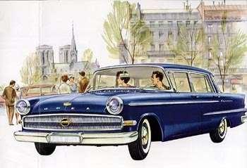 1960 opel kapitän-a