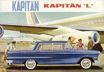 1960 opel kapitein L