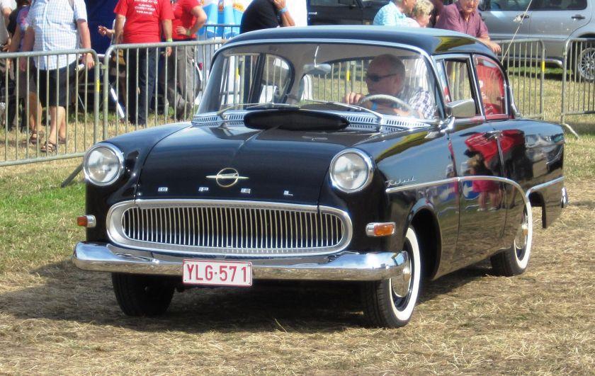 1960 Opel Rekord P1 2 door