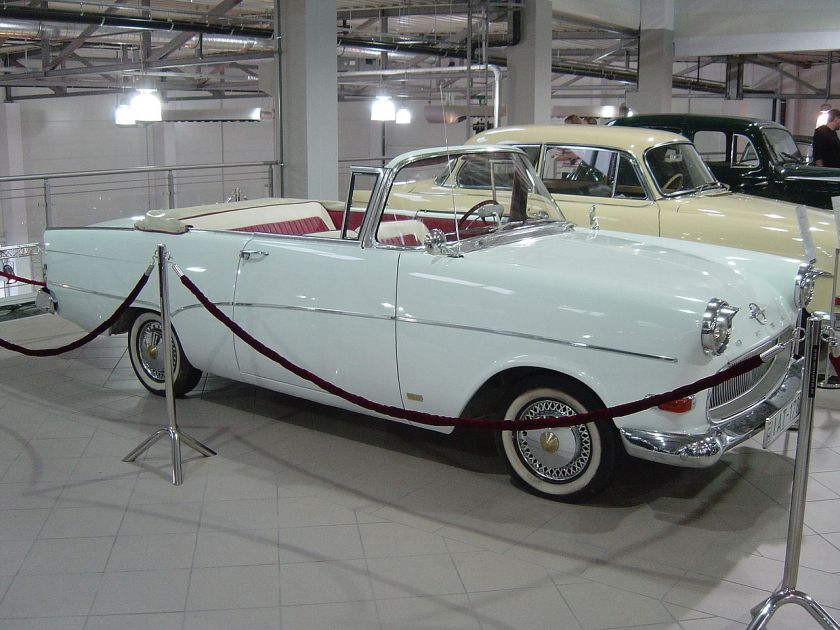 1960 Opel Rekord P1 Cabrio