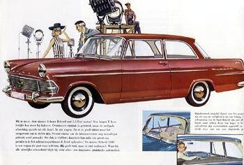 1960 opel rekord p2-a