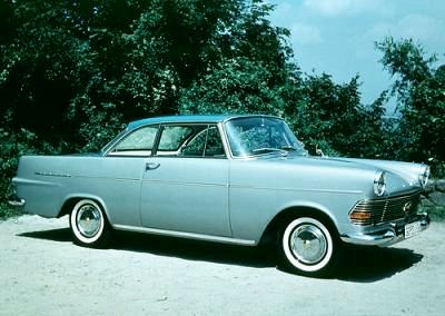 1961 Opel Rekord Coupé