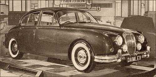 1962 Daimler 2,5 v8