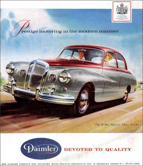 1962 Daimler majestic major january